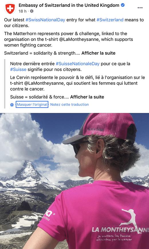 Alors la Suisse: symbole de force et de solidarité ?